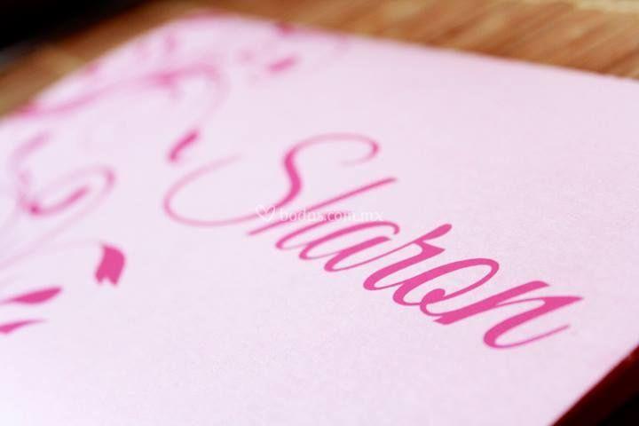 Letras en serigraf a de invitaciones all about weddings - Letras para serigrafia ...