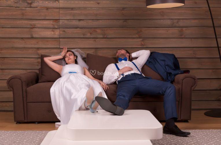 Cansados antes de la boda