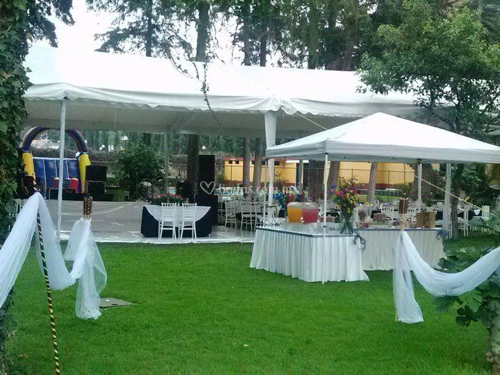 Jardín salesiano de Banquetes América