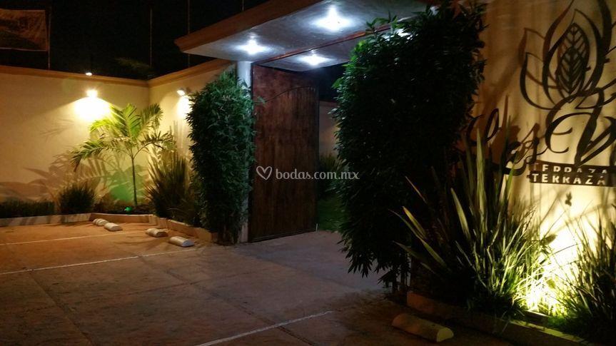 Ingreso de terraza jard n las velas fotos - Velas jardin ...