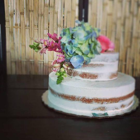 Naked cake flor natural