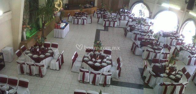 Las distintas mesas