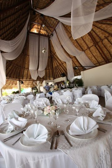Banquetes en club de playa