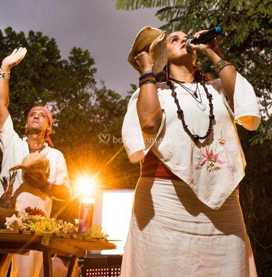 Ceremonia Mistica en Cenotes K