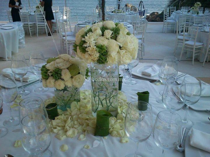Cilindros florales