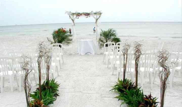 Ceremonía en la playa