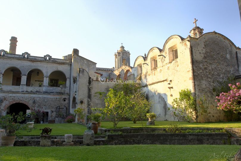 Hacienda Santa Cruz Vista Alegre Casco Antiguo y Trapiche