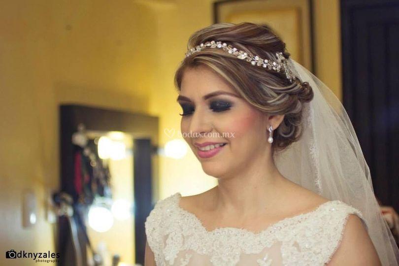 Viridiana Enríquez Make up