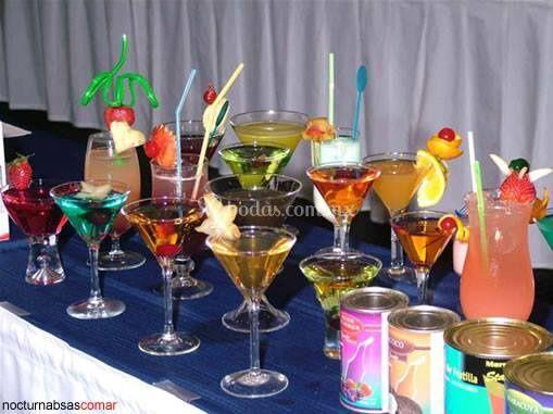 Bebidas de coctel