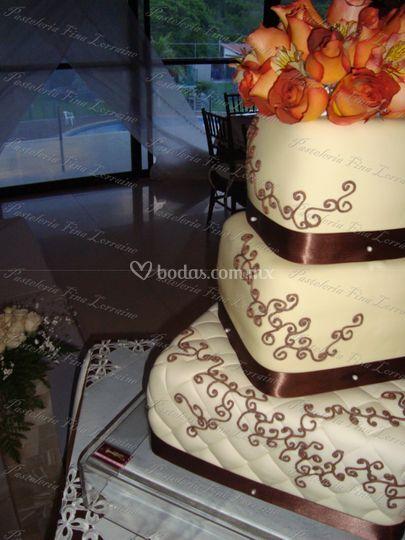 Diseño de tarta único