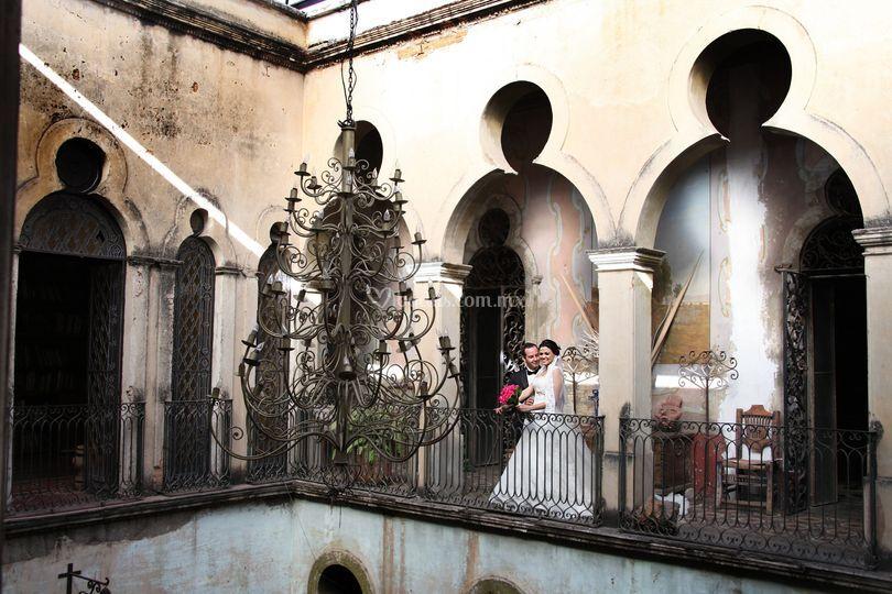 Sesión en casas antiguas