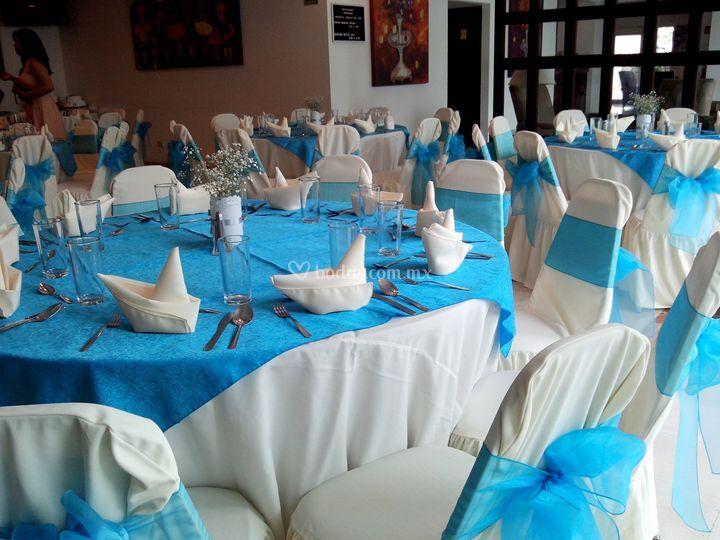 Banquete en restaurante
