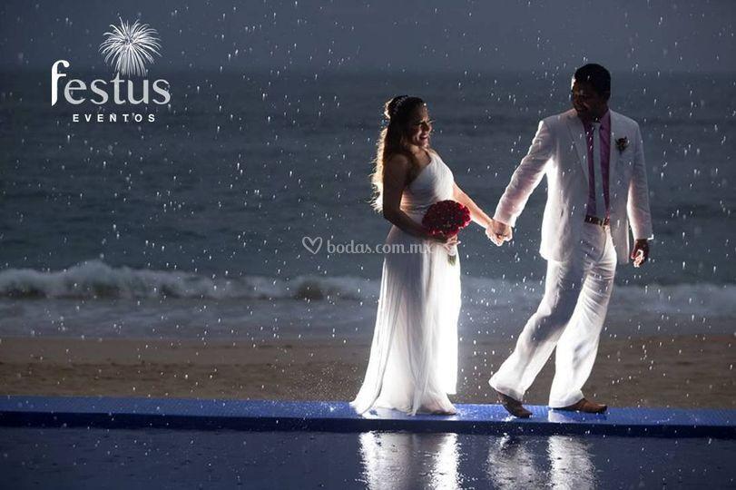 Amor inmenso como el mar