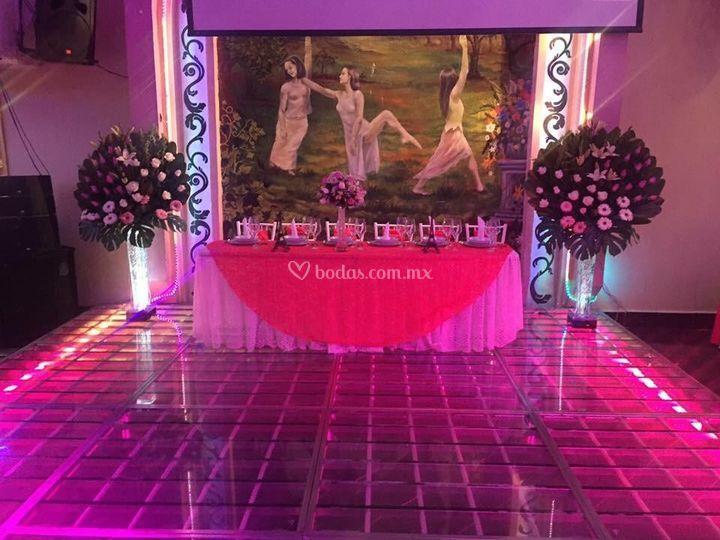 Salón de eventos D'Francis