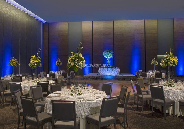 Ballroom social event