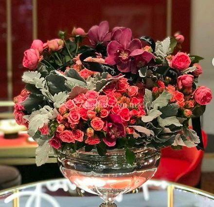 Arreglo flor inglesa
