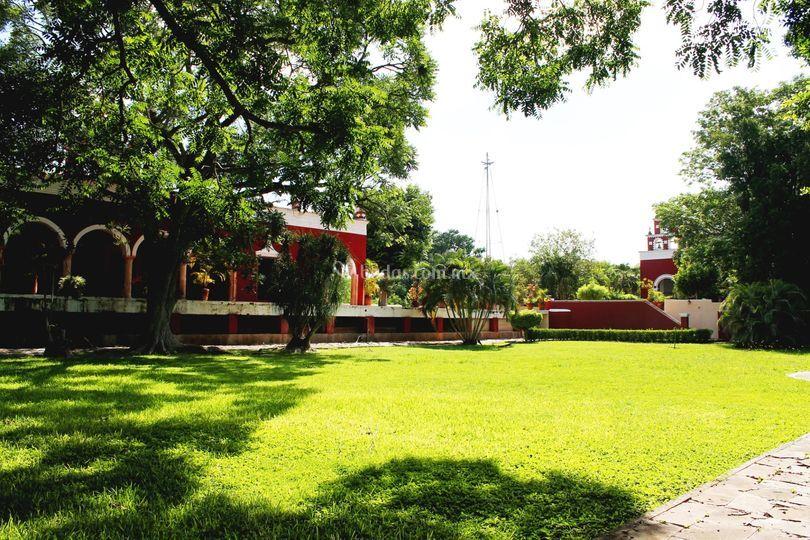 Jardín dela emperatriz carlota