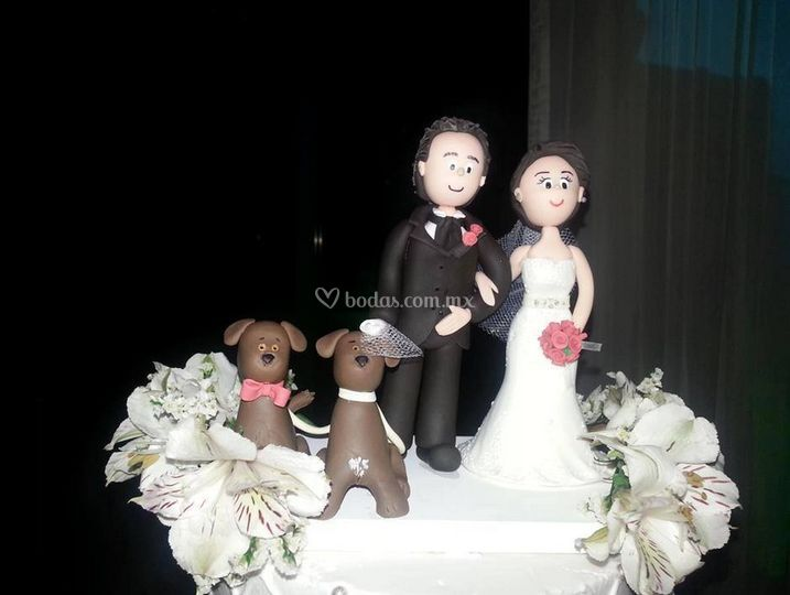 Figura para el pastel