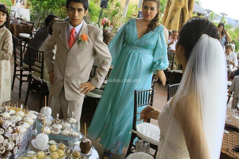 Mesa dulces para boda