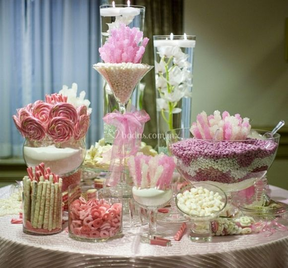 Detallitos y mass for Mesa dulce para baby shower