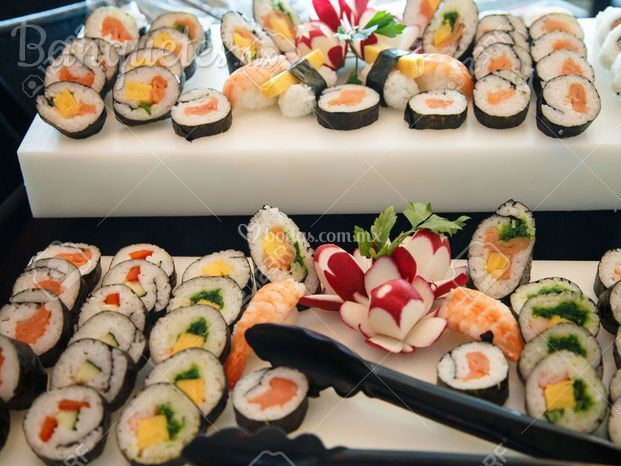 Buffet sushi