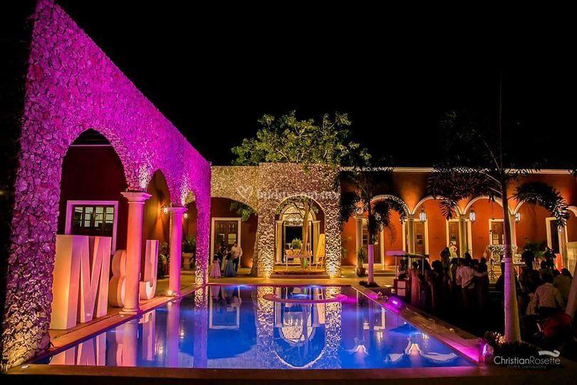 Hacienda yucateca bodas