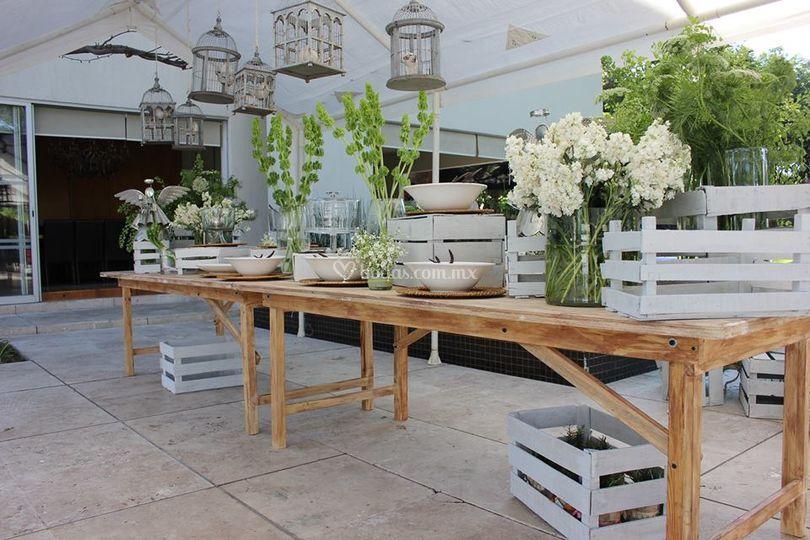 Eventos casa gaby for Alquiler de muebles para eventos