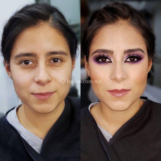 Maquillaje para tus damas