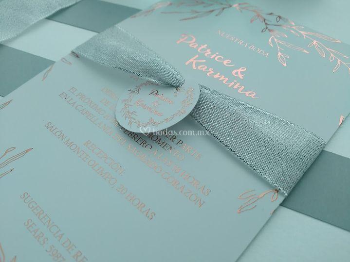 Invitación enlace matrimonial
