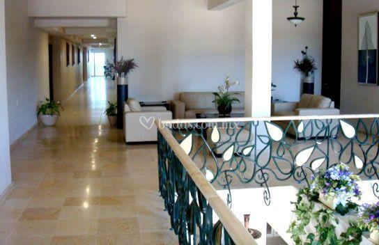 Lobby habitaciones