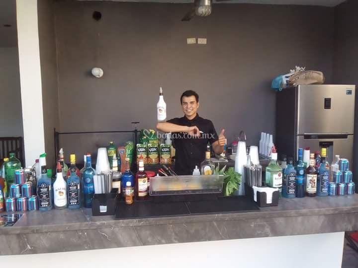 Bartenders en accion