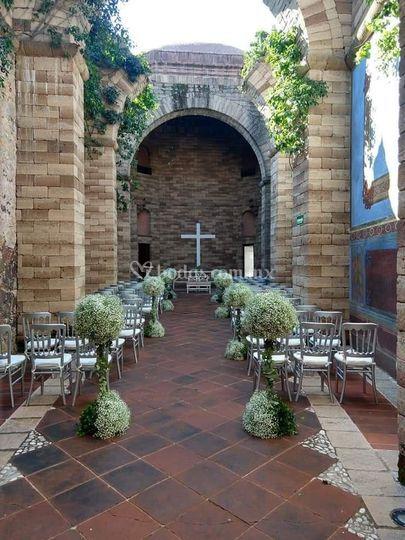 Boda religiosa en Morelos