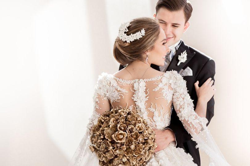 Diseño de ramo de novia