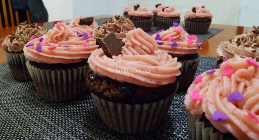 Hanky Panky Cupcakes