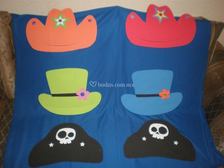 Sombreros planos