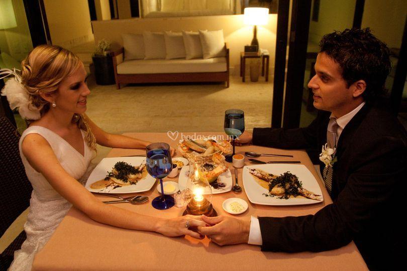 Cena en Máster Suites