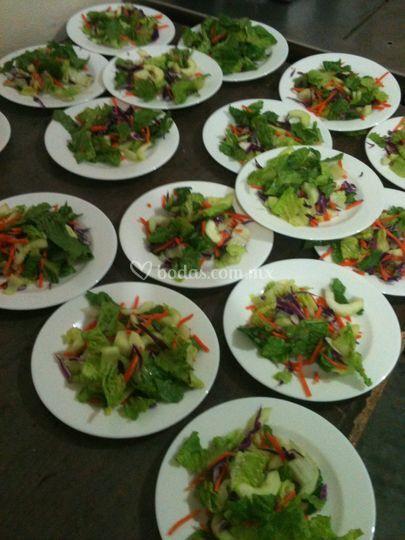 Banquetes en loza