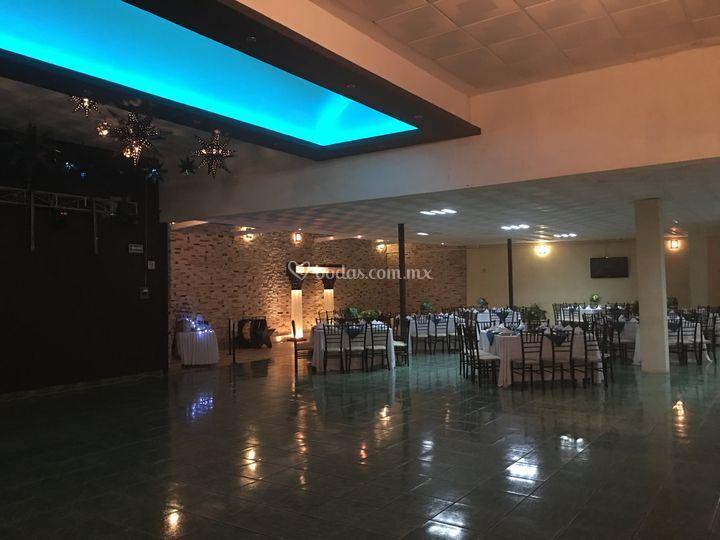 Salón leds pista de baile