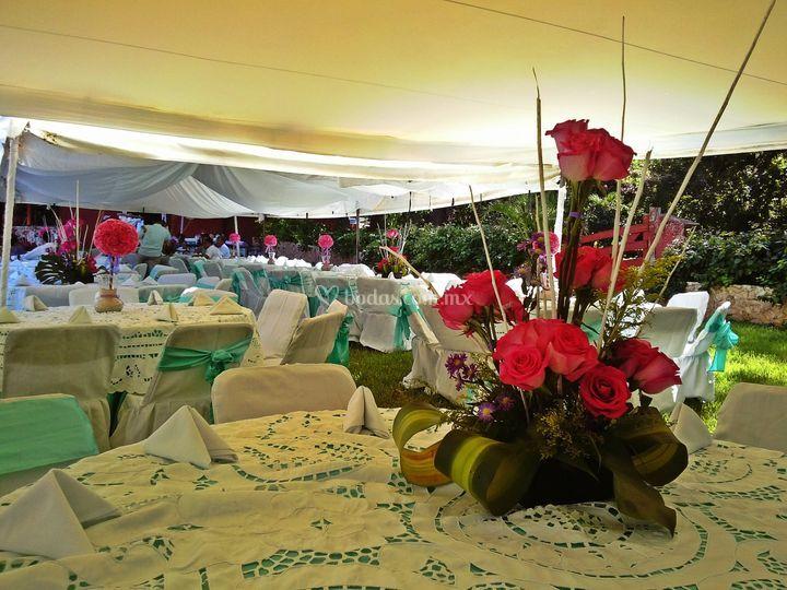 Arreglos Florales Para Boda De Hacienda San Miguel Foto 54