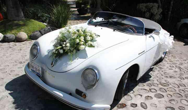 Auto de boda