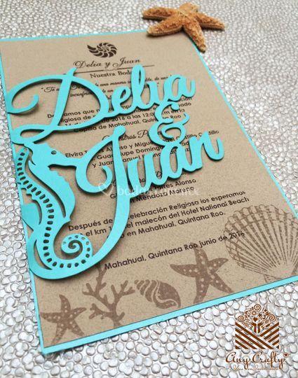 Calado marino Delia y Juan