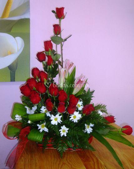 Rosal Curvo De Arreglos Florales Yuyo Foto 25 - Imagenes-de-arreglos-florales