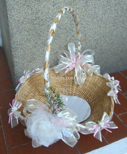 decorar canasta para boda imagui
