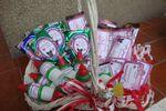 Canastas de dulces personaliza