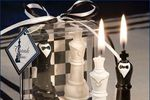 Vela novios ajedrez