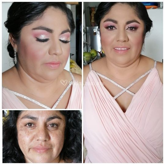 Sandy tlaxca makeup