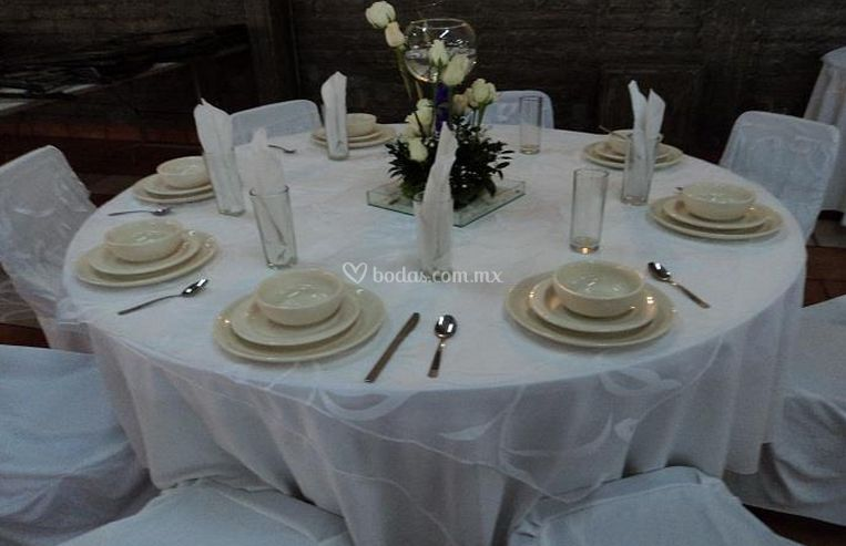 Presentación de las mesas