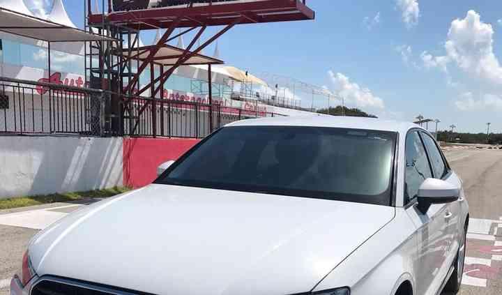 Audi blanco