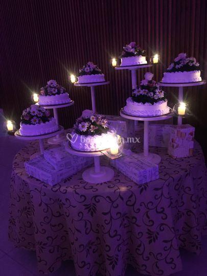 Pastel de boda tradicional