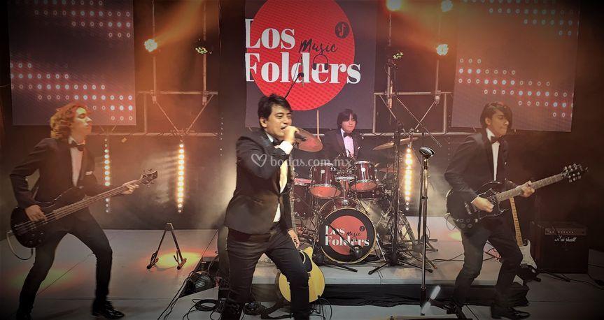 Los Folders Live